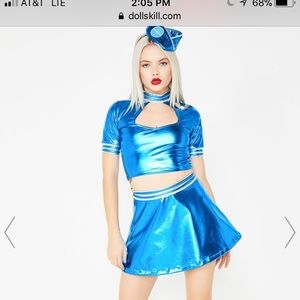 Poison Paradise Airline Costume Toxic